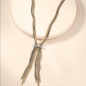 Bowie Fringe Lariat Necklace